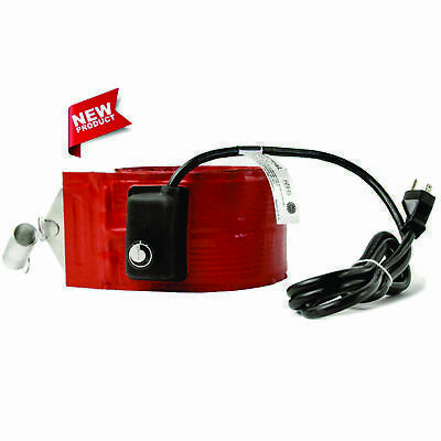 55 Gallon Heavy Duty 4 Wide Metal Drum Heater With 50-160f Thermostat Dhls15