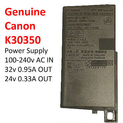 NEW Genuine Canon AC Printer Power Supply Adapter K30350 PIXMA MX922 MX722 MX725