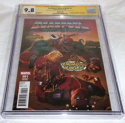 Deadpool Back in Black #1 CGC SS Dual Signature Autograph STAN LEE MCFARLANE 🔥