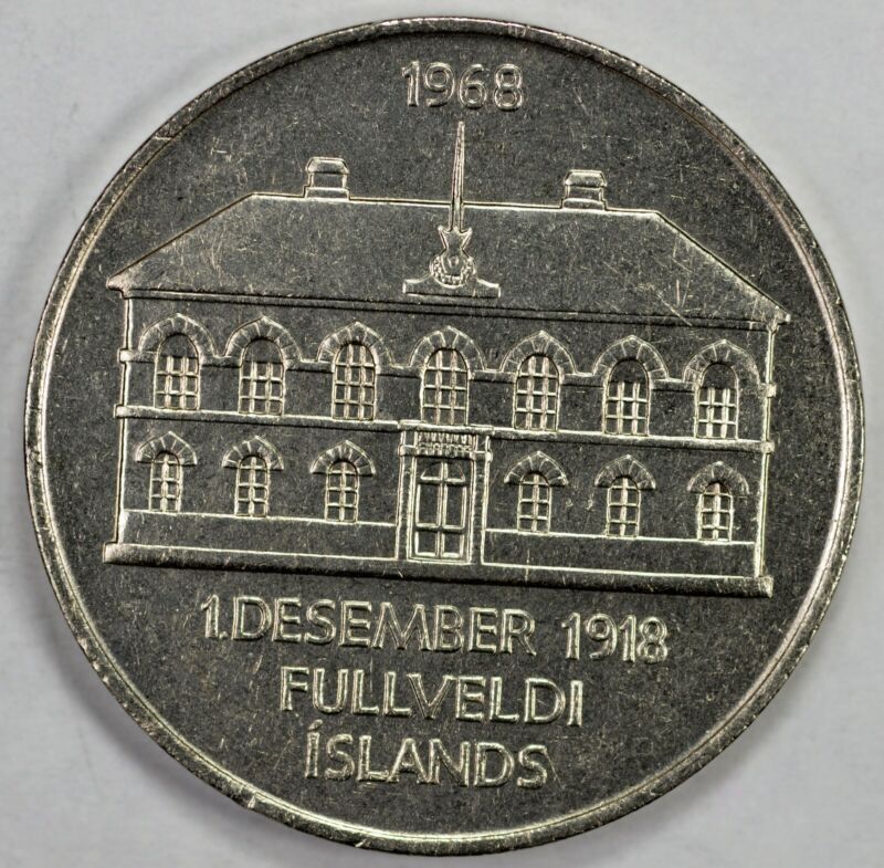 Iceland 1968 50K 50th Anniv of Soverneignty