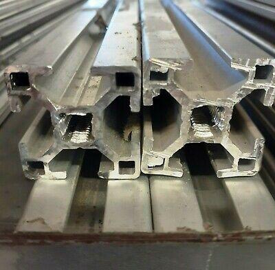 8020 T-slot 30-3030 Aluminum Extrusion 30 X 30 Mm 9-12 241.3 Mm Lot Of 4