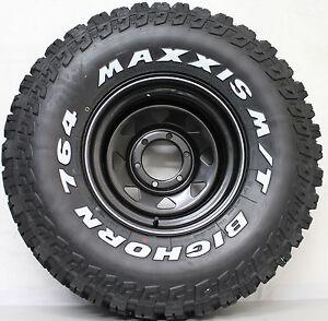 15-inch-Sunraisia-Wheels-Brand-New-33-inch-MAXXIS-BIGHORN-MUD-TERRAIN-TYRES