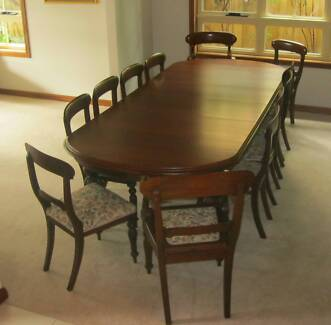 Mahogany extendable table in excellent condition Northbridge Willoughby Area Preview