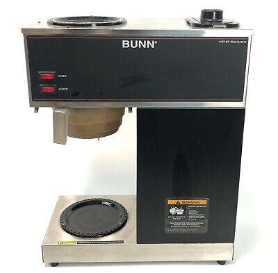 Bunn Vpr Series 2 Warmer Burner Commercial Coffee Maker Brewer 33200.0001