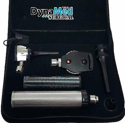 Veterinary Ophthalmoscope Otoscope Diagnostic Set Whitest Led Illumination