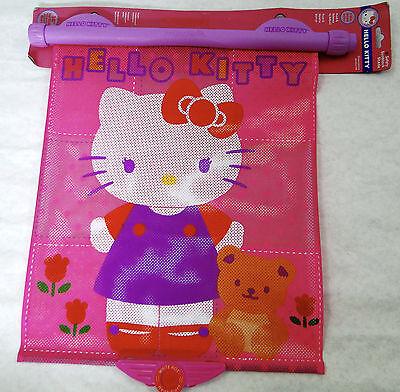 Munchkin Sanrio Hello Kitty Car Sunblock Sun Shade w/ HEAT ALERT SYSTEM, NEW