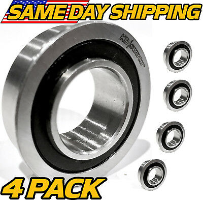 (4 Pack) Cub Cadet / MTD 941-0141 Flange Bearings  - THE BEST BEARINGS ON