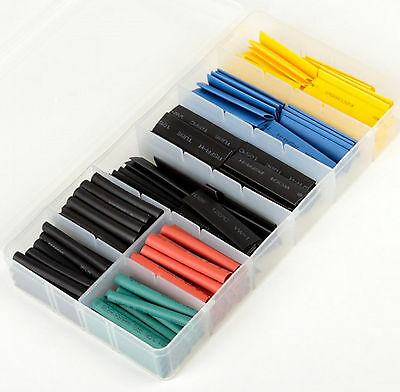 320pc Heat Shrink Wire Wrap Assortment Set Tubing Electrical Connection Cable Us
