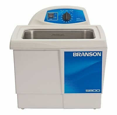 Ultrasonic Cleaner Branson M5800h Mechanical 60 Min Heat 2.5 Gal Cpx-952-517