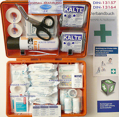 Sport-Sanitätskoffer S1 PLUS Erste-Hilfe Koffer nach DIN 13157 + DIN 13164