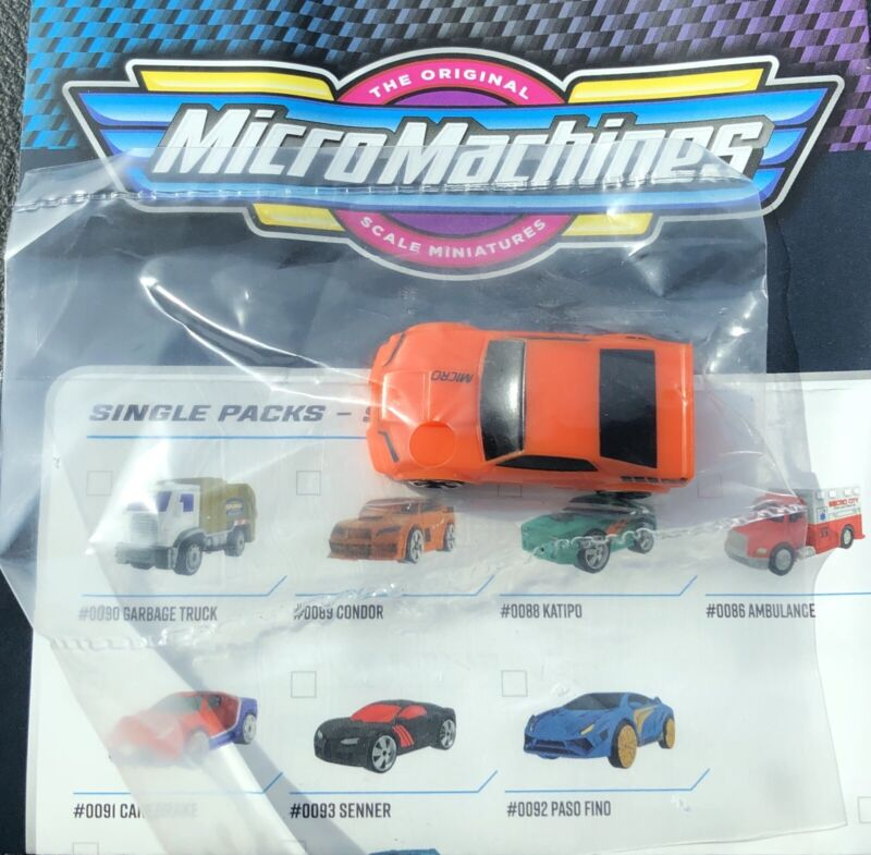 Micro Machines Blind Bag Series 2 Condor #89 2020 Hasbro Micromachines Mystery