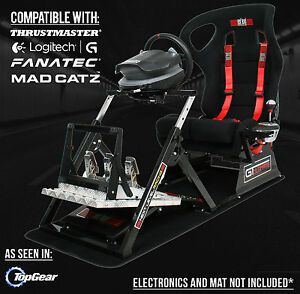 Next Level Gtultimate Racing Simulator Cockpit Gaming Chair for PS3 PS4 Xbox
