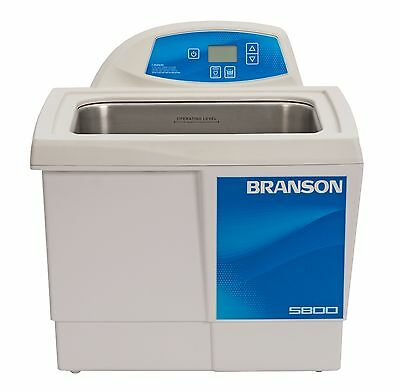 Ultrasonic Cleaner Branson Cpx5800h Digital Heat Bransonic 2.5 Gal Cpx-952-518