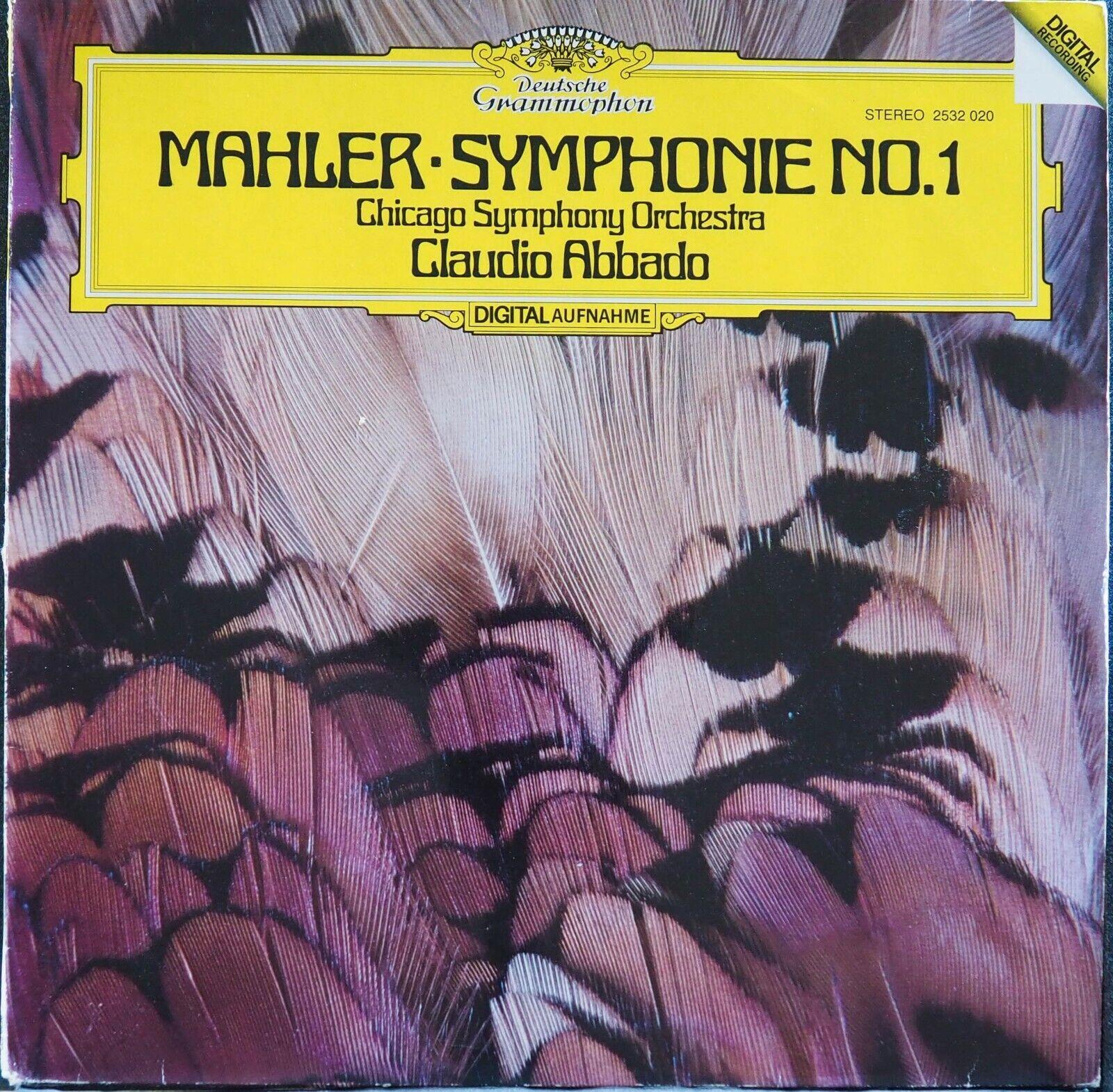 DG 2532 020 Mahler Sym 1/CSO/Abbado,German Original - $7.00