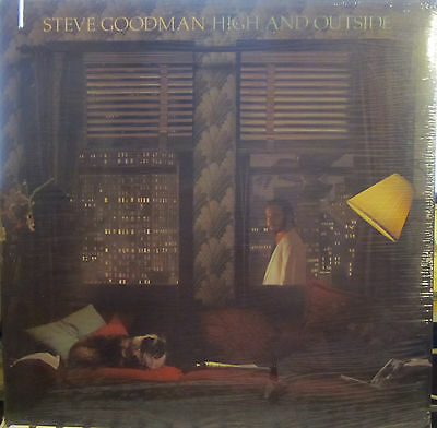 Steve Goodman - High and Outside  (Asylum 6E-174) ('79) (ss) (Nicolette Larson)