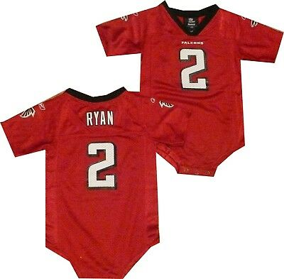 Atlanta Falcons Matt Ryan Reebok Creeper Toddler Infant Jersey  Clearance  32
