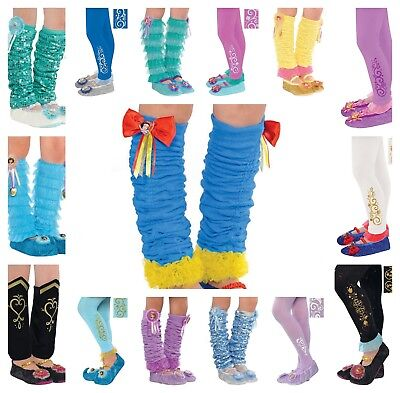Disney Princess Tights Leg Warmers Halloween Costume Dress - Disney Halloween Outfits