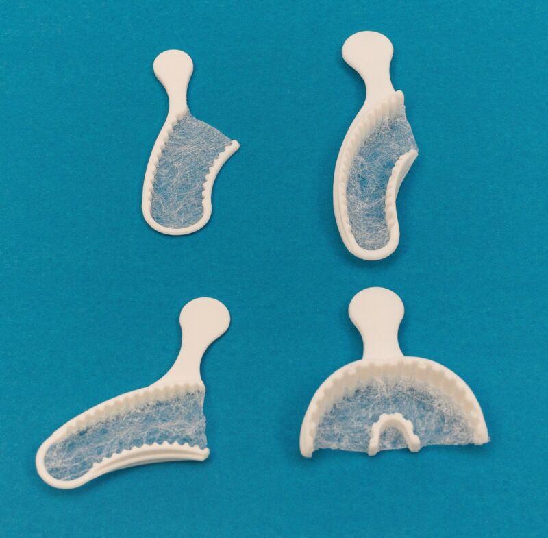 Dental Bite Registration Disposable Impression Triple Trays Assorted 40/Box