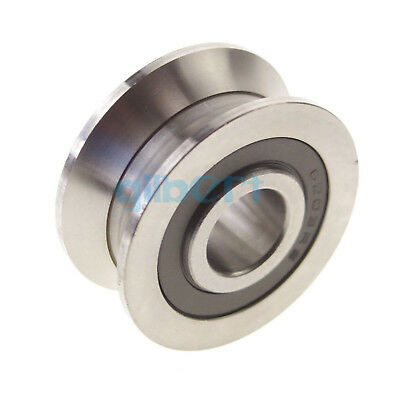 2pcs 6308mm V Groove Width 5.5mm Guide Pulley Sealed Rail Ball Bearings