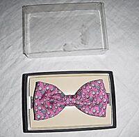Vintage Bow Tie Pink Balloons 'tie Rack' Totally Adjustable Smart Formal Suave - tie rack - ebay.co.uk
