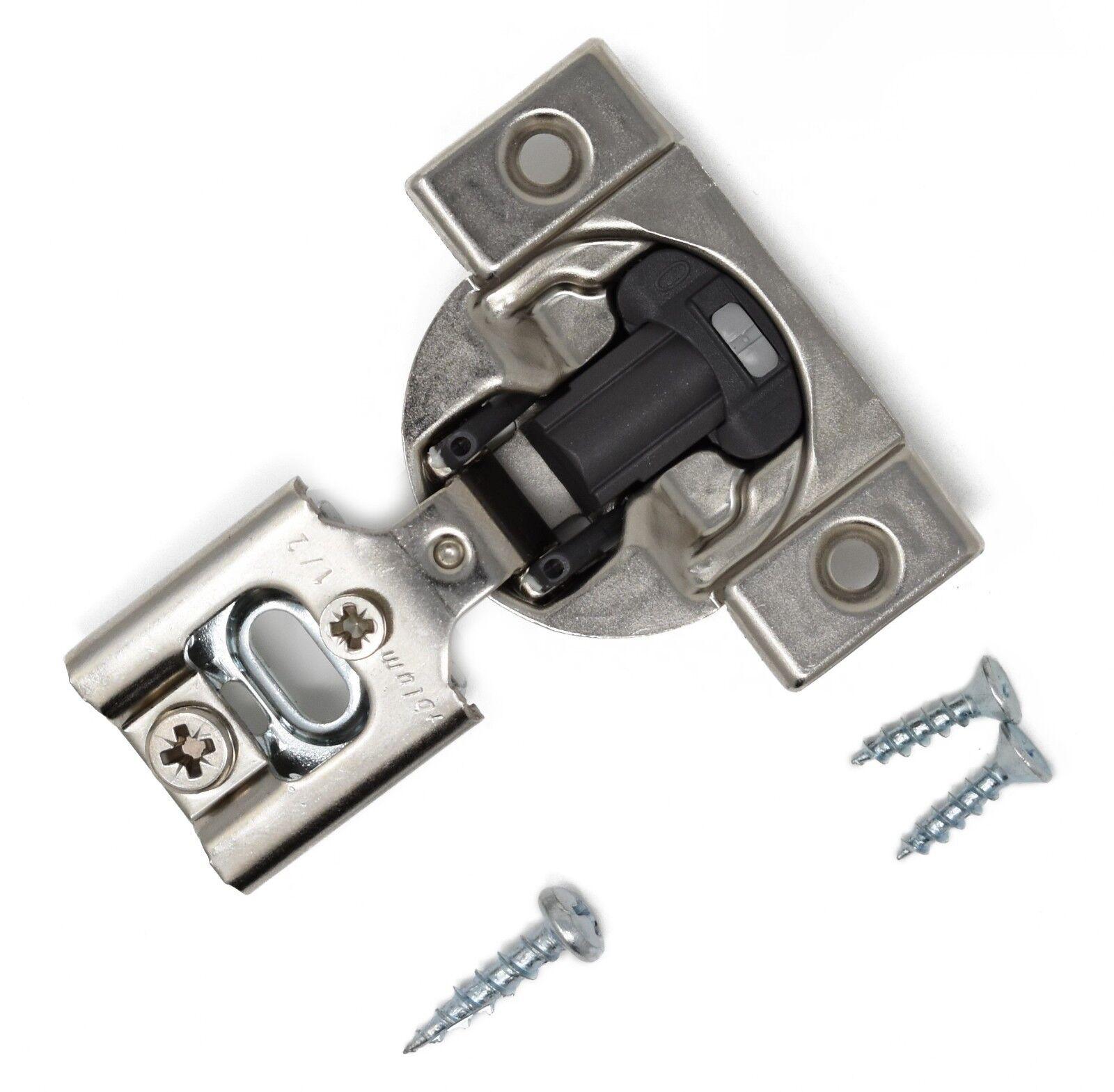"50 Pack Blum Blumotion 39C Cabinet Hinges 1-5//16/"" Overlay Soft Close 39C355B.21"