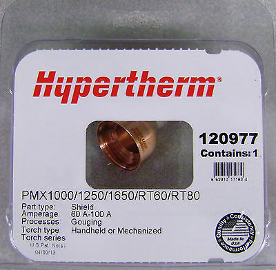 Hypertherm Genuine Powermax 1000 1250 1650 60-100 Amp Gouging Shield 120977