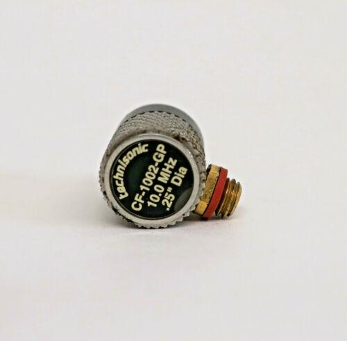 Technisonic Fingertip Contact Transducer Probe 10 MHz .25 DIA (CF-1002-GP)