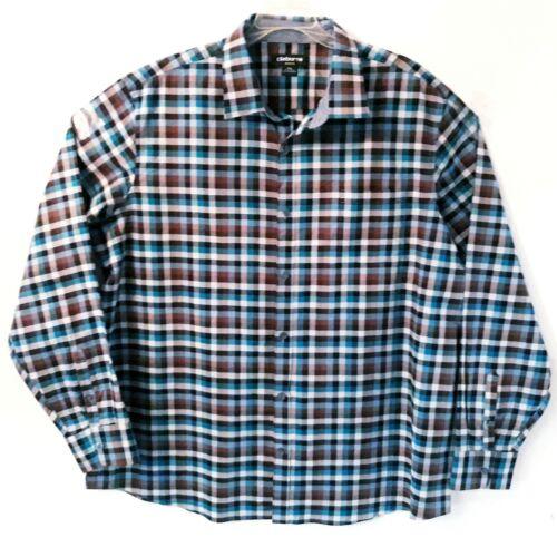 Men's Liz Claiborne Buttons Down Shirt Plus Size XXL Stretch