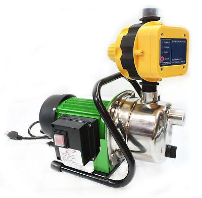 1 6Hp Jet Water Pupm Pressure Booster Water Jet Stainless Pump Self Priming
