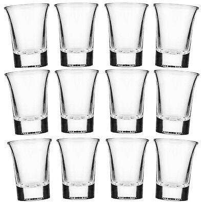 24 Schnapsgläser 4cl Likörgläser Schnapsglas Pinnchen Whiskey Vodka Shot Gläser