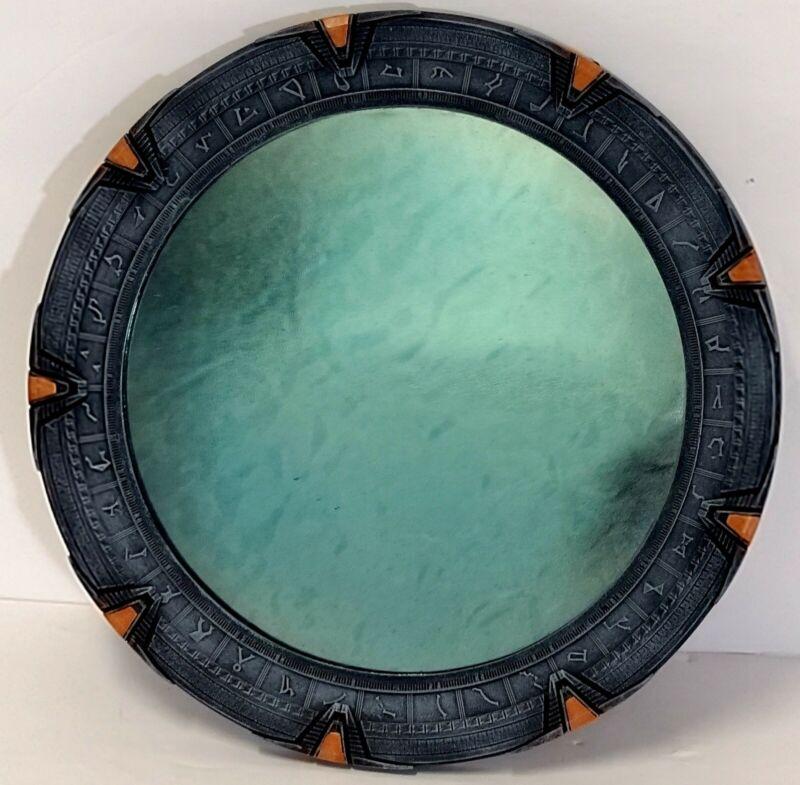 "Qmx 2007 Stargate SG 1 Replica Mirror Quantum Mechanix 9 3/4"" Diameter"