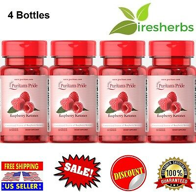 #1 BEST- RASPBERRY KETONES 100mg WEIGHT LOSS SUPPLEMENT DIET FAT BURNER 240