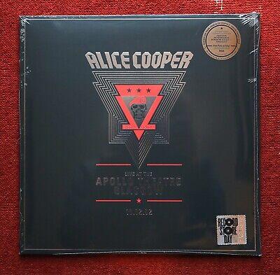 Alice Cooper Live at the Apollo Theatre Vinyl RSD 2020
