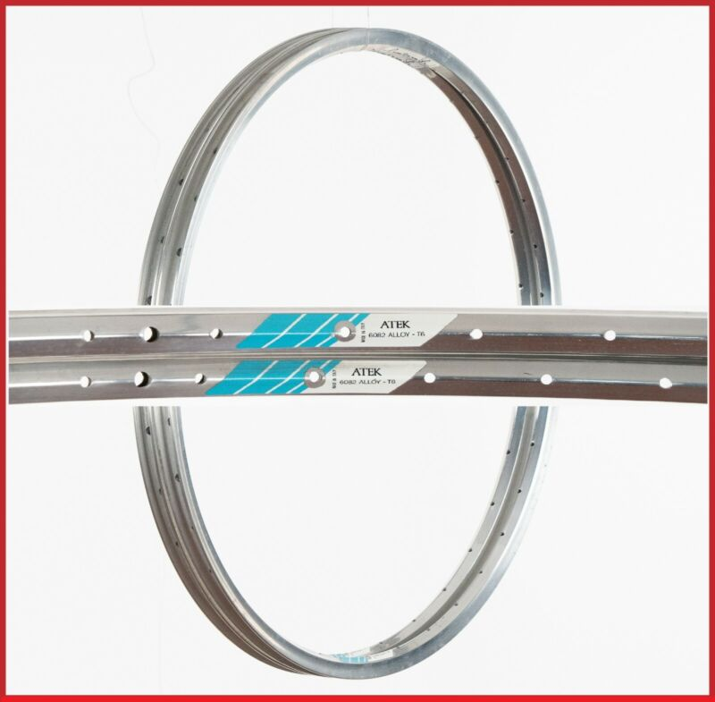 Cerchio bici corsa Rigida DP 18 32 h vintage clinchers rims bike 700c