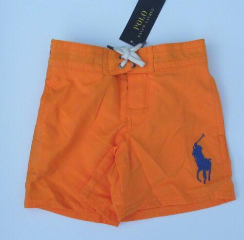 NWT Ralph Lauren Boys Sanibel Big Pony Shorts Swim Trunk Suit 2/2t 24m NEW $45