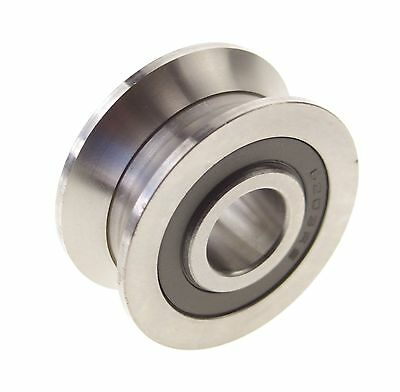 6308mm V Groove Width 5.5mm Guide Pulley Sealed Rail Ball Bearings