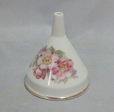 Floral Porcelain Funnel