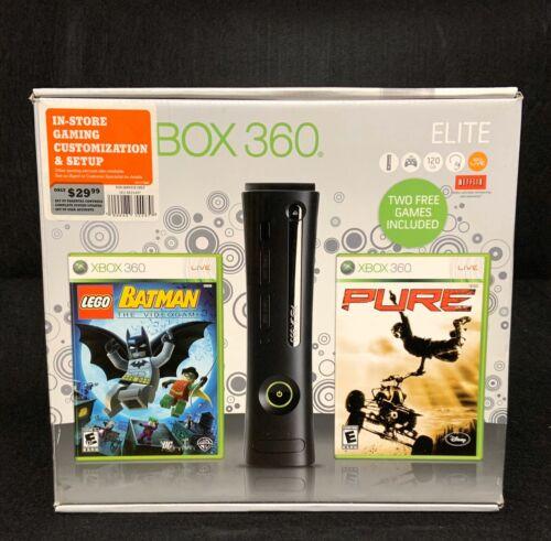 XBOX 360 ELITE BLACK EMPTY BOX ONLY - $25.00