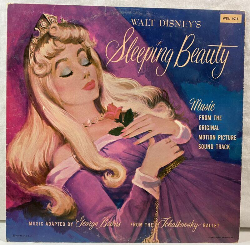 WALT DISNEY'S SLEEPING BEAUTY ORIGINAL SOUNDTRACK WDL-4018 RECORD