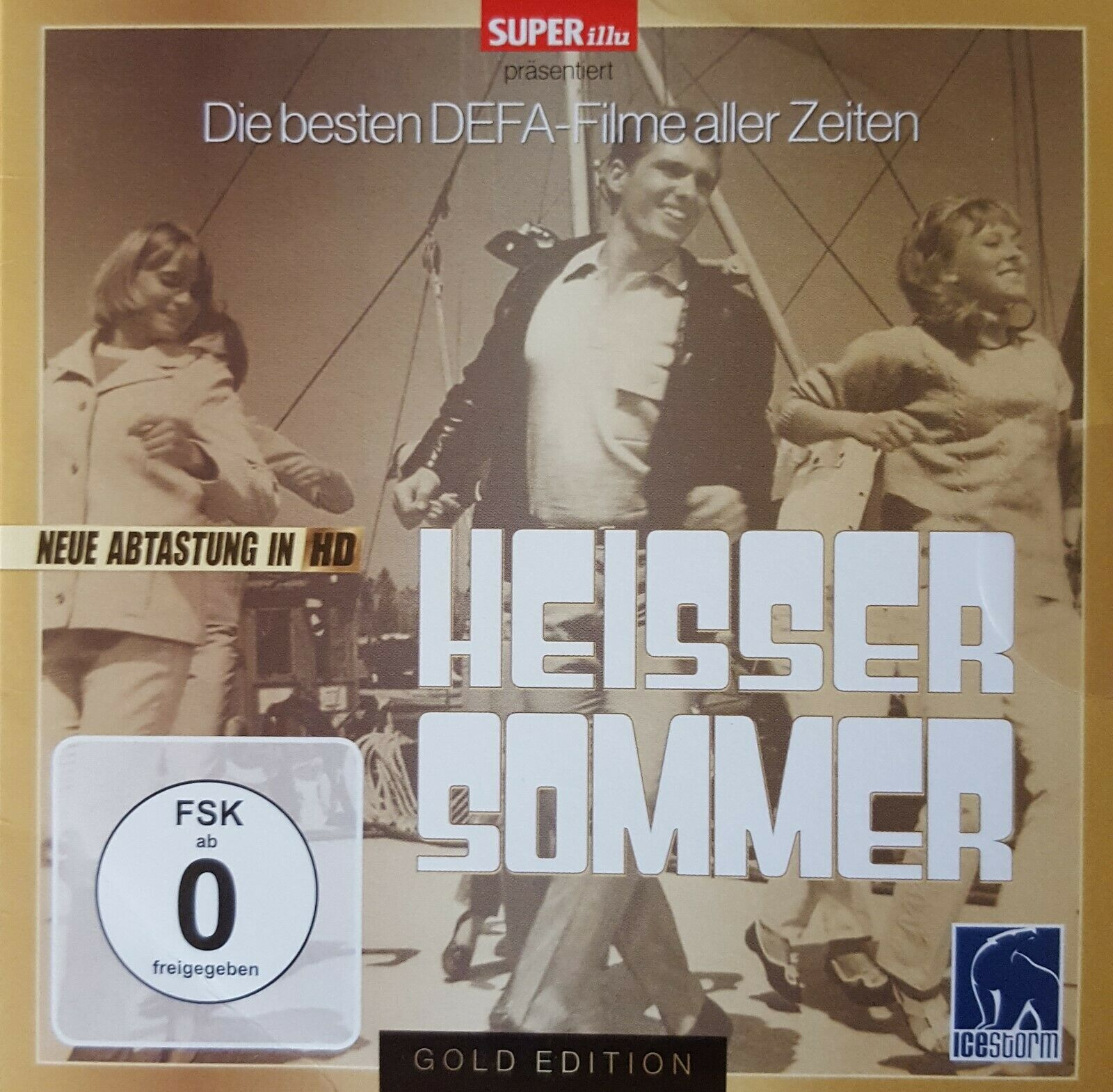 DVD - HEISSER SOMMER - SUPER-illu - DEFA KOMÖDIE - NEUE ABTASTUNG IN HD