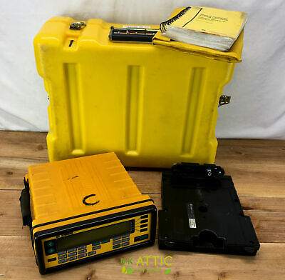 Trimble 4000sse Gps Total Station W Case Dual Battery Cradle And Manual