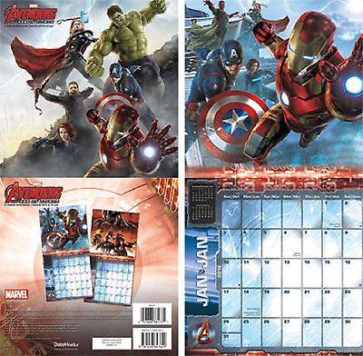 The Avengers 2016 Mini Wall Calendar