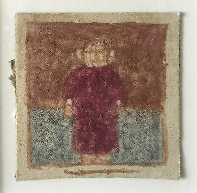 James Castle, Untitled (figure in red), n.d(1960s)