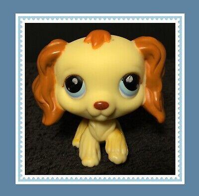 Authentic Littlest Pet Shop LPS #298 Cream Cocker Spaniel Puppy Dog