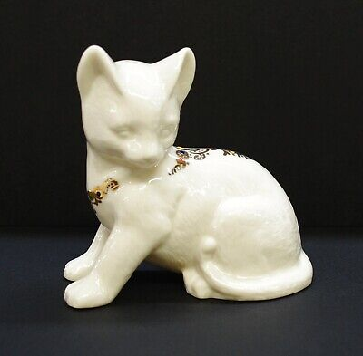 English Pottery Antique Creamware Pottery Cat Figurines Cat Figurines 3 glaze Pottery Unique Pottery Bisque Pottery