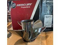 Mercury Fury 4 -14 1/2 x 25 Pitch RH 48-8M0114409 - New, lake tested for 10 mins
