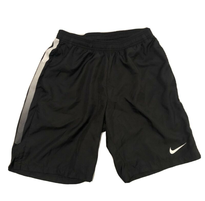 "Nike Court DRY 9"" Tennis Shorts Black White  Dri-Fit Medium"