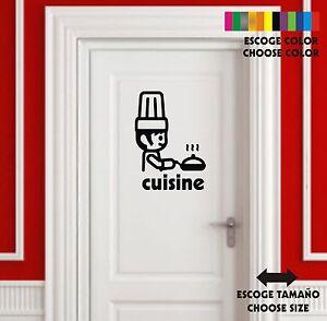 Sticker-Vinilo-Cocina-Kitchen-Cuisin-Wall-Art-Decal-Vinyl-Pegatina
