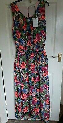 New JUNAROSE Floral Summer Holiday Beach Lined Maxi Dress BNVT UK 16
