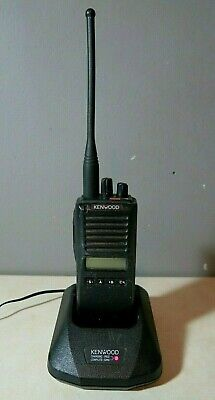 Kenwood Tk-280 Vhf Radio 146-174 Mhz With Charger Free Programming